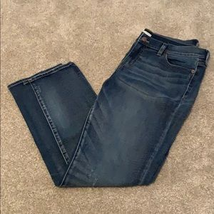 JCrew Factory girlfriend stretch jeans